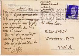 Spain  & Marcofilia, Salamanca,  Palacio De Monterrey, Windhoek S.W.A Nambia 1978 (50) - 1931-Oggi: 2. Rep. - ... Juan Carlos I