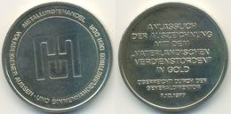 DDR Medaille, Metallurgiehandel, Vaterländischer Verdienstorden In Gold 1977 - Other