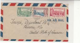 Montserrat / Airmail / Cotton - Briefmarken