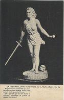 La Guerre. Petite Statue Par L. Martin.  S- 4231 - Sculptures