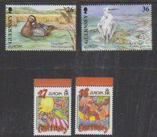 Europa Cept 2001 + 2002 Guernsey 2x2v ** Mnh (38118) - Europa-CEPT