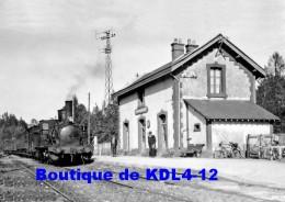 AL 520 - Train MV - Loco 030 N° 692 En Gare - LA FERTE FRENEL ANCEINS - Orne  61 - ETAT - France