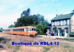 AL 521 - Autorail Caravelle En Gare - RANDONNAI IRAI - Orne  61 - SNCF - Autres Communes