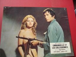 AFFICHETTE FILM EMANUELLE ET LES COLLEGIENNES - Cinema Advertisement