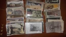 Lot De Plus De 120 Cpa Fantaisies Femmes - Cartes Postales