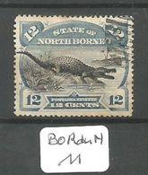 BOR Du N TY 58 Ob - Nordborneo (...-1963)