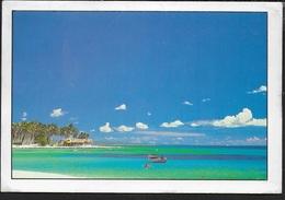 REPUBBLICA DOMINICANA - CLUB DOMINICUS - BAYAHIBE -VIAGGIATA FRANCOBOLLO ASPORTATO - Cartoline