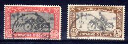 1926 + 1952; Timbres  Pour Lettre Expres, YT No. 2 + 4, Oblitéré, Lot 49677 - Egypt