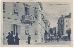 Pazin Pisino Via Gabriele D'Annunzio Istra Istria Istrien Hrvatska Croazia Kroatien - Kroatien