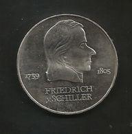 DDR - 20 MARK ( 1972 - F. SCHILLER ) Eastern Germany / Germania Est / Deutschland - Altri