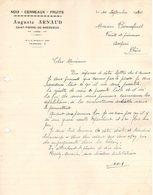 38  ST PIERRE DE BRESSIEUX Isère FACTURE 1940 NOIX CERNEAUX Fruits Auguste ARNAUD   A38 Saint - 1900 – 1949