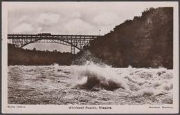 Whirlpool Rapids, Niagara, Ontario, 1910 - Davidson Bros RP Postcard - Niagara Falls