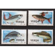 Venda Set Of Stamps Showing Fish  From 1987.  This Set  Is In Unmounted Mint Condition. - Venda