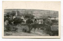 CPA  51 : RIPONT  Panorama   1915   A  VOIR  !!!!!!! - Autres Communes