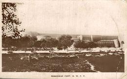 Peshawar Fort - Real Photo Postcard  SOME CRACKS SEE SCAN          INDIA  ASIA INDE INDIEN - Pakistan