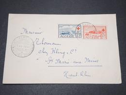 ALGÉRIE - Enveloppe FDC Croix Rouge En 1952 - L 15307 - Algérie (1924-1962)