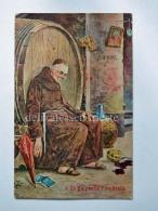 FRATI Frate Vecchia Cartolina Umoristica Anticlericale AK Old Postcard 2 - Humor