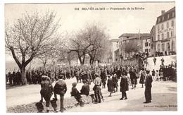 BEVÈS (24) En 1915 - Promenade De La Brèche - Ed. Carcenac, Belvès - France