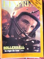 L'EXPRESS N°1263 (22/28 Sept 1975) Histoire D'O -Rollerball - Guerre Angola - Allgemeine Literatur