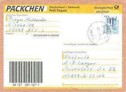 Bund 2323 EF Portogenau Auf Päckchen - Adressenteil Von Gingst 2004 - Covers & Documents