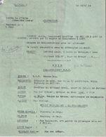 LOT #69 B.A. E.M.2  FFI JURA 1944 RESISTANCE LIBERATION LISTE COLLABORATEUR PPF DOLE KOMMANDANTUR - 1939-45