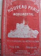Nouveau Paris Monumental - Cartes