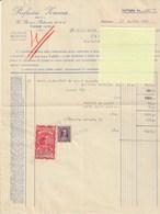 FATTURA DEL 1948 - Italia