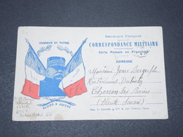 FRANCE - Carte FM ( Secteur Postal 44 ) Pour Thonon Les Bains En 1915 - L 15317 - Marcophilie (Lettres)