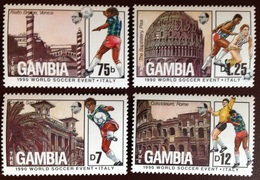 Gambia 1989 World Cup 1st Issue MNH - Gambia (1965-...)