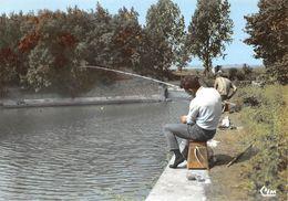 Bergues Pêcheur Canal Du Roy - Bergues