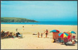 Harlyn Bay, Padstow, Cornwall, C.1980s - Colourmaster Postcard - England