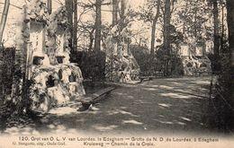Edeghem - Grot Van O.L.V. Van Lourdes - Kruisweg - Chemin De La Croix - 1910 - Edegem