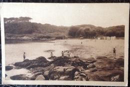 CP. 2298. Port-Manech. La Plage à Marée Basse - France
