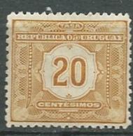 Uruguay   -  Taxe - Yvert N° 5 *   -   Pa 11104 - Uruguay