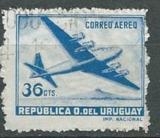 Uruguay   - Aérien  - Yvert N° 129 Oblitéré   -   Pa 11106 - Uruguay