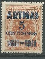 Uruguay   - Yvert N°  197  *  -   Pa 11111 - Uruguay