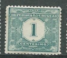 Uruguay - Taxe   - Yvert N°  1 *  -   Pa 11128 - Uruguay