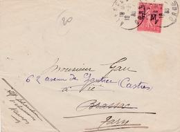 Franchise Militaire N° 6 Sur Devant De Lettre Alençon> Castres - Franchise Stamps