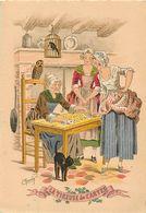 Ref W238- Illustrateurs - Illustrateur  Maudy - Edition Barré - Dayez - La Tireuse De Cartes  - - Cartes à Jouer