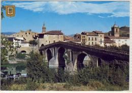 PUENTE LA REINA NAVARRA  VISTA PARCIAL - Navarra (Pamplona)