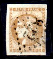 Francia-A0076 - 1870-71: Y&T N. 43 (o) Used - Senza Difetti Occulti. - 1870 Emission De Bordeaux