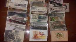 Lot De Plus De 160 Cpa Fantaisies Bébés Enfants - Cartes Postales