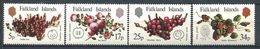 225 FALKLAND 1983 - Yvert 395/98 - Fruit Rouge - Neuf **(MNH) Sans Trace De Charniere - Falkland Islands