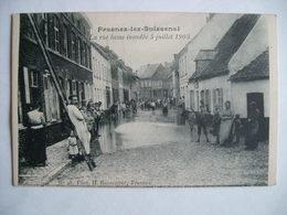 Frasnes-lez-Buissenal - La Rue Basse Inondée 5 Juillet 1905 - Frasnes-lez-Anvaing