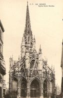 76. CPA. Seine Maritime. Rouen. Eglise Saint-Maclou - Rouen