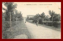 Broons  *   Arrivée Route De Lamballe  * édition Sorel   ( Scan Recto Et Verso ) - Francia