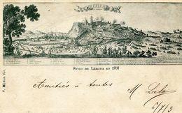 LERIDA - SITIO De LERIDA En 1707 - - Lérida