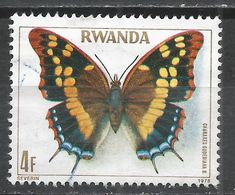 Rwanda 1979. Scott #908 (U) Charaxes Guderiana, Butterfly * - Rwanda