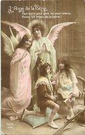 - Themes - Ref-A426- Guerre 1914-18 - Patriotique - L Ange De La Patrie - Anges - Enfants - - Patriotiques