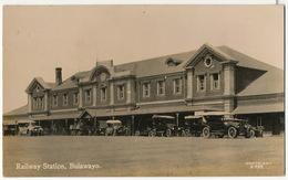 Real Photo Bulawayo Railway Station Gare - Zimbabwe